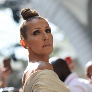 Céline Dion au défilé Automne/Hiver 2019 d'Alexandre Vauthier à Paris, le 2 juillet 2019.