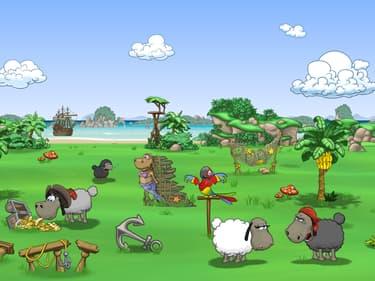 Clouds & Sheep 2 : des moutons bienheureux sur SFR Jeux