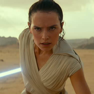 Rey dans Star Wars IX : L'Ascension de Skywalker.