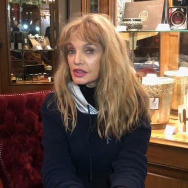 Arielle Dombasle au 27e Festival international du film fantastique de Gérardmer.