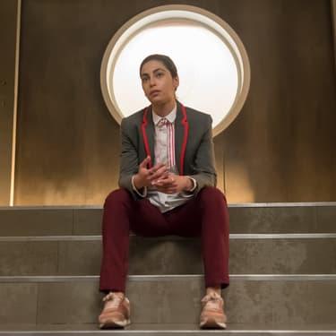 L'actrice Mina El Hammani dans la série Élite sur Netflix.