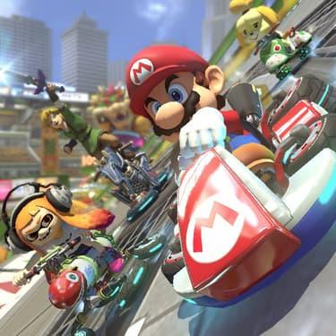 Mario Kart 8 Deluxe, sur Nintendo Switch, roi des soirées entre-amis !