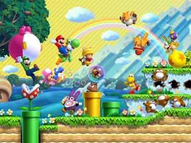 Top 5 des jeux Mario les plus connus