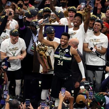 Les Milwaukee Bucks sont sacrés champions NBA
