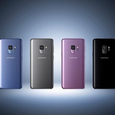 Le Samsung Galaxy S9 qui compte parmi les meilleurs smartphones pour jouer.