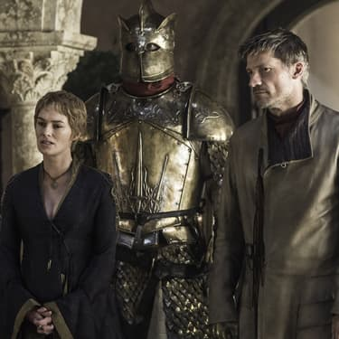 Jaime et Cersei Lannister dans Game of Thrones