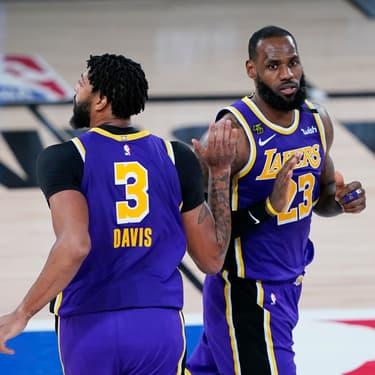 NBA : les Lakers et les Clippers foncent en demi-finales de Conférence
