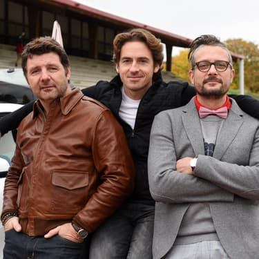 Philippe Lellouche, Bruce Jouanny et Le Tone, le trio infernal de présentateurs de Top Gear France