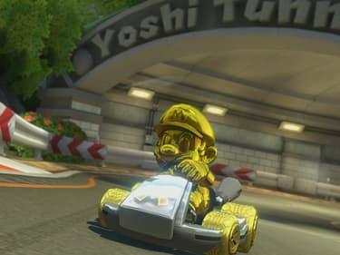 Mario Kart 8 : comment débloquer le kart en or ?