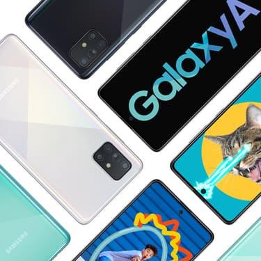 Samsung lance deux nouveaux milieu de gamme, les Galaxy A51 et A71.