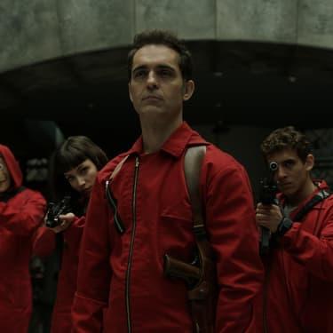 Berlin, l'un des personnages emblématiques des deux premières saisons de La Casa de Papel sur Netflix.