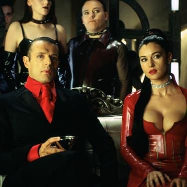 Lambert Wilson et Monica Bellucci dans Matrix Revolution.