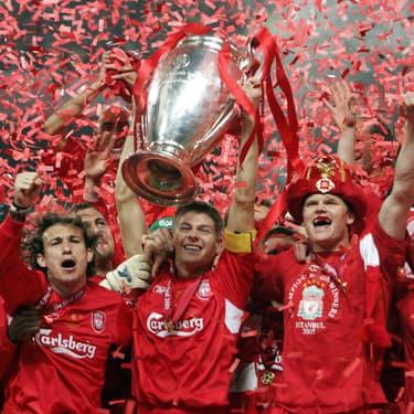 Liverpool remporte la plus incroyable des finales de Ligue des Champions en 2005 face au Milan AC