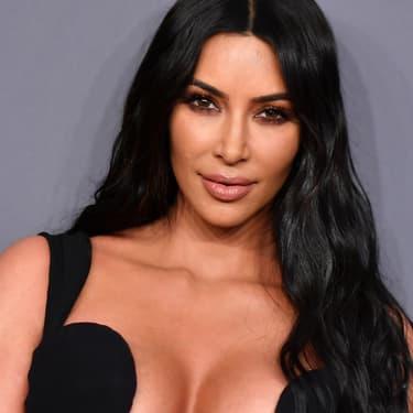 Kim Kardashian à l'amfAR Gala de New York, en février 2019.