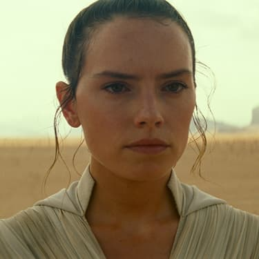Rey (Daisy Ridley) dans Star Wars IX : L'Ascension de Skywalker.