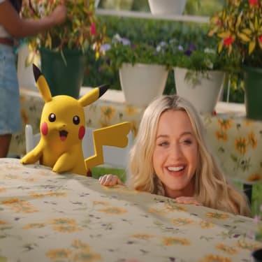 Katy Perry en duo avec Pikachu dans son nouveau clip