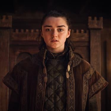 Arya Stark, à l'origine d'une liste de noms qu'elle envisage de tuer d'ici la fin de la série Game of Thrones.