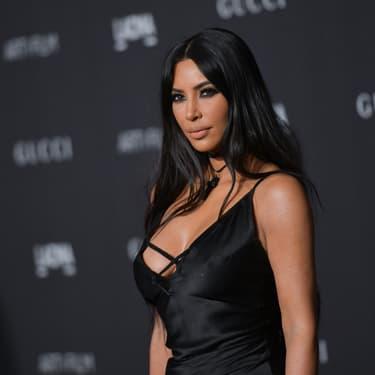Kim Kardashian au glala LACMA Art+Film à Los Angles en 2018.