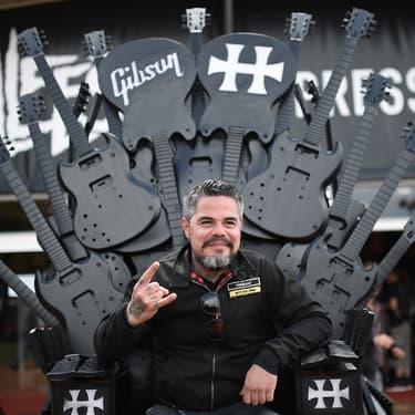 Ben Barbaud, le fondateur du Hellfest, le 17 juin 2016 à Clisson