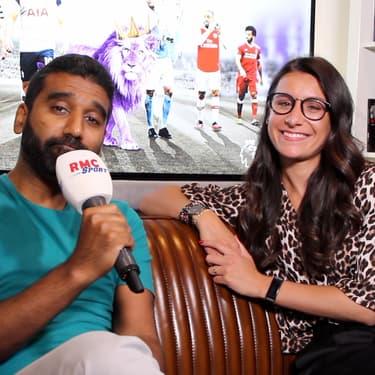Vidéo : Flora Moussy et Salim Baungally font rugir la Premier League sur RMC Sport