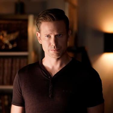 "Matt Davis, alias Alaric Saltzman, dans le nouveau spin-off de ""Vampire Diaries"", ""Legacies""."