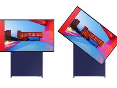 Découvrez la nouvelle TV rotative 4K de Samsung : The Sero