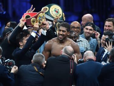 Boxe : Anthony Joshua veut tous les titres de champion du monde