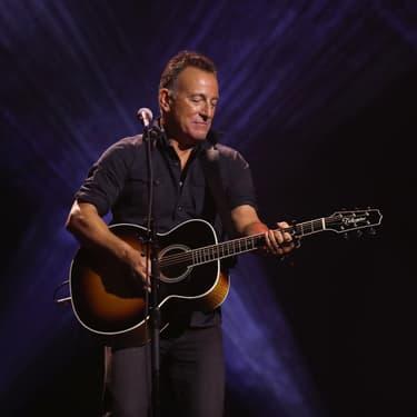 Bruce Springsteen sur scène pour la cérémonie de clôture des Jeux Invictus à Toronto, le 30 septembre 2017.