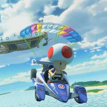 Toad, l'un des personnages emblématiques de la série, est disponible dans Mario Kart Tour.