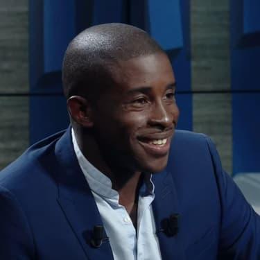Rio Mavuba lors de l'émission Le Vestiaire sur RMC Sport
