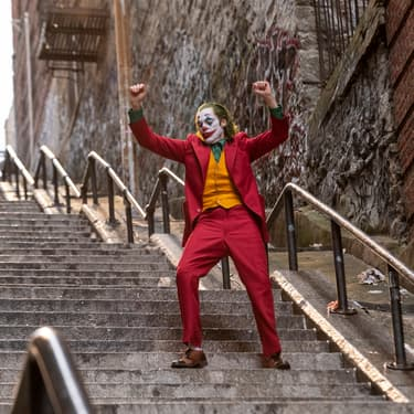 Joaquin Phoenix, alias le Joker, n'a pas de raison d'être triste !