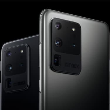 Le Samsung Galaxy S20, disponible dès le 13 mars 2020.