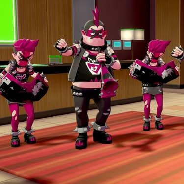 La Team Yell, les grands antagonistes de Pokémon Épée et Bouclier.