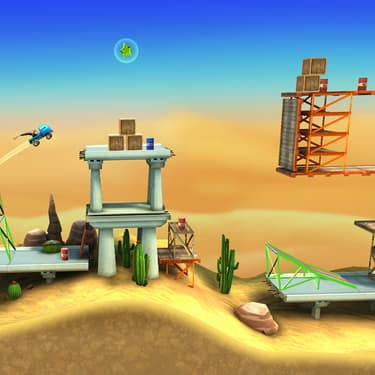 Bridge Constructor Stunts : du pont et du bond sur SFR Gaming