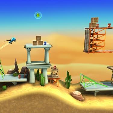 Bridge Constructor Stunts : du pont et du bond sur SFR Gaming