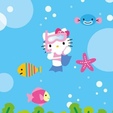 Fini les vacances pour Hello Kitty !