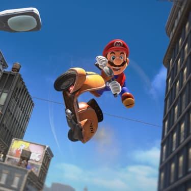 Super Mario Odyssey, l'un des best-seller sur Switch.