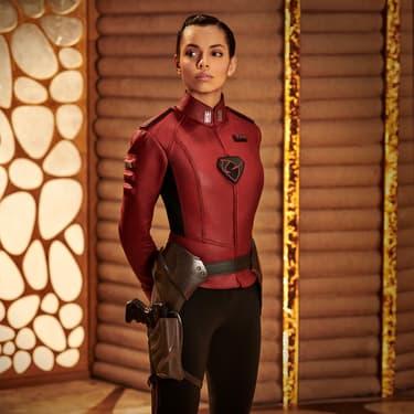 Lyta Zod (Georgina Campbell), personnage important qui a contribué à l'histoire de Superman dans Krypton.