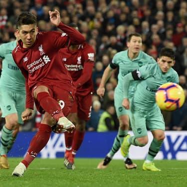 Firmino avait inscrit un triplé lors du dernier affrontement entre Liverpool et Arsenal à Anfield (5-1) en décembre 2018.