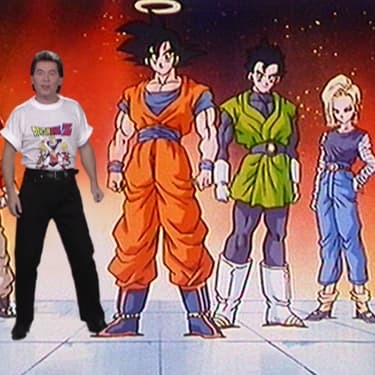 Bernard Minet chante le générique de Dragon Ball Z
