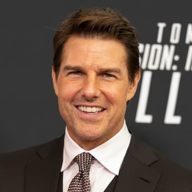 """Actor and Producer Tom Cruise arrives for a screening of """"Mission Impossible - Fallout"""" at the Smithsonian National Air and Space Museum on July 22, in Washington, DC."""