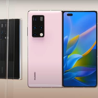 Huawei présente son nouveau smartphone pliable, le Mate X2
