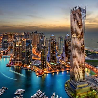 Dubaï, la ville des Émirats arabe unis fait rêver les footballeurs du monde entier !
