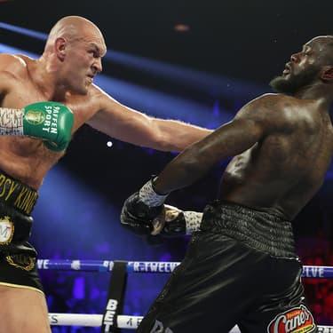 Tyson Fury a battu Deontay Wilder en sept reprises au MGM Grand de Las Vegas, le 22 février 2020.
