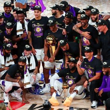 Les Lakers sont sacrés champions NBA