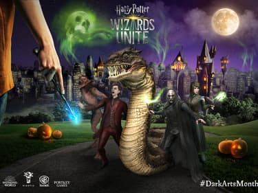 Harry Potter : Wizards Unite, le mois des Forces du mal pour Halloween !