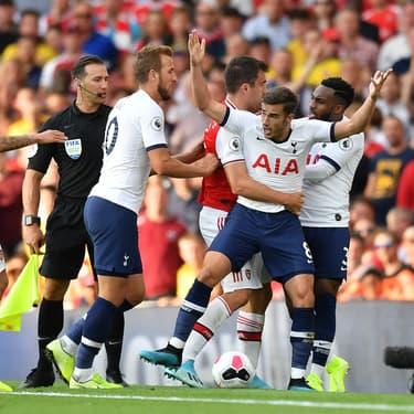 De nombreux accrochages ont eu lieu pendant le derby du nord de Londres Arsenal-Tottenham (2-2) dimanche à l'Emirates Stadium