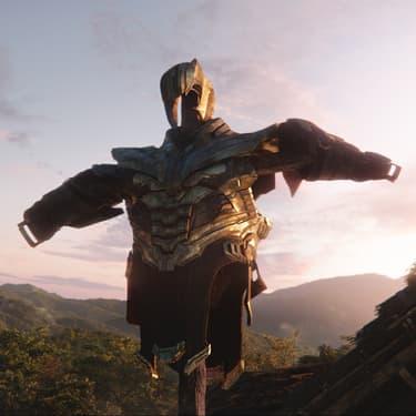 Thanos, grand antagoniste des Avengers, semble avoir abandonné son armure dans le trailer d'Avengers: Endgame.