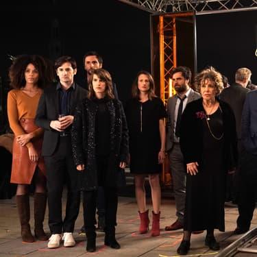 Les membres de l'agence A.S.K. dans la saison 3 de Dix pour cent.