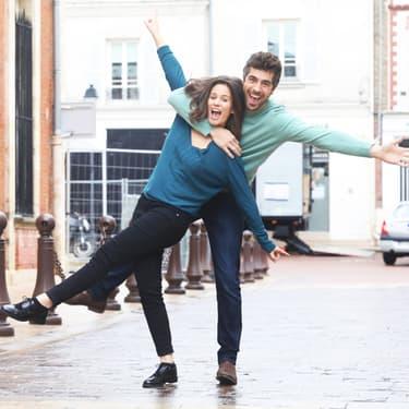 Lucie Lucas et Agustin Galiana dans la saison 9 de Clem sur TF1.